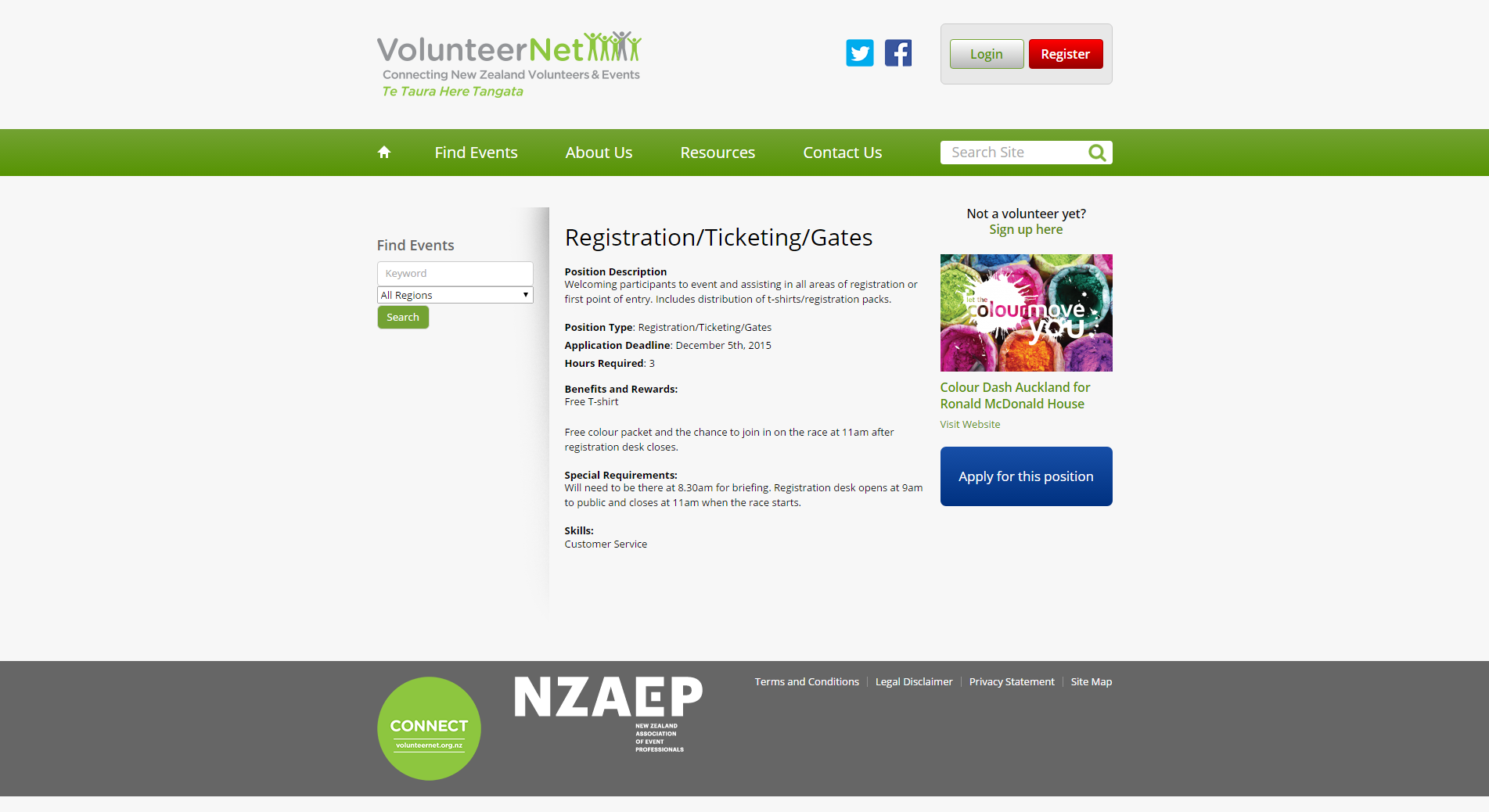 Registration_Ticketing_Gates _ VolunteerNet