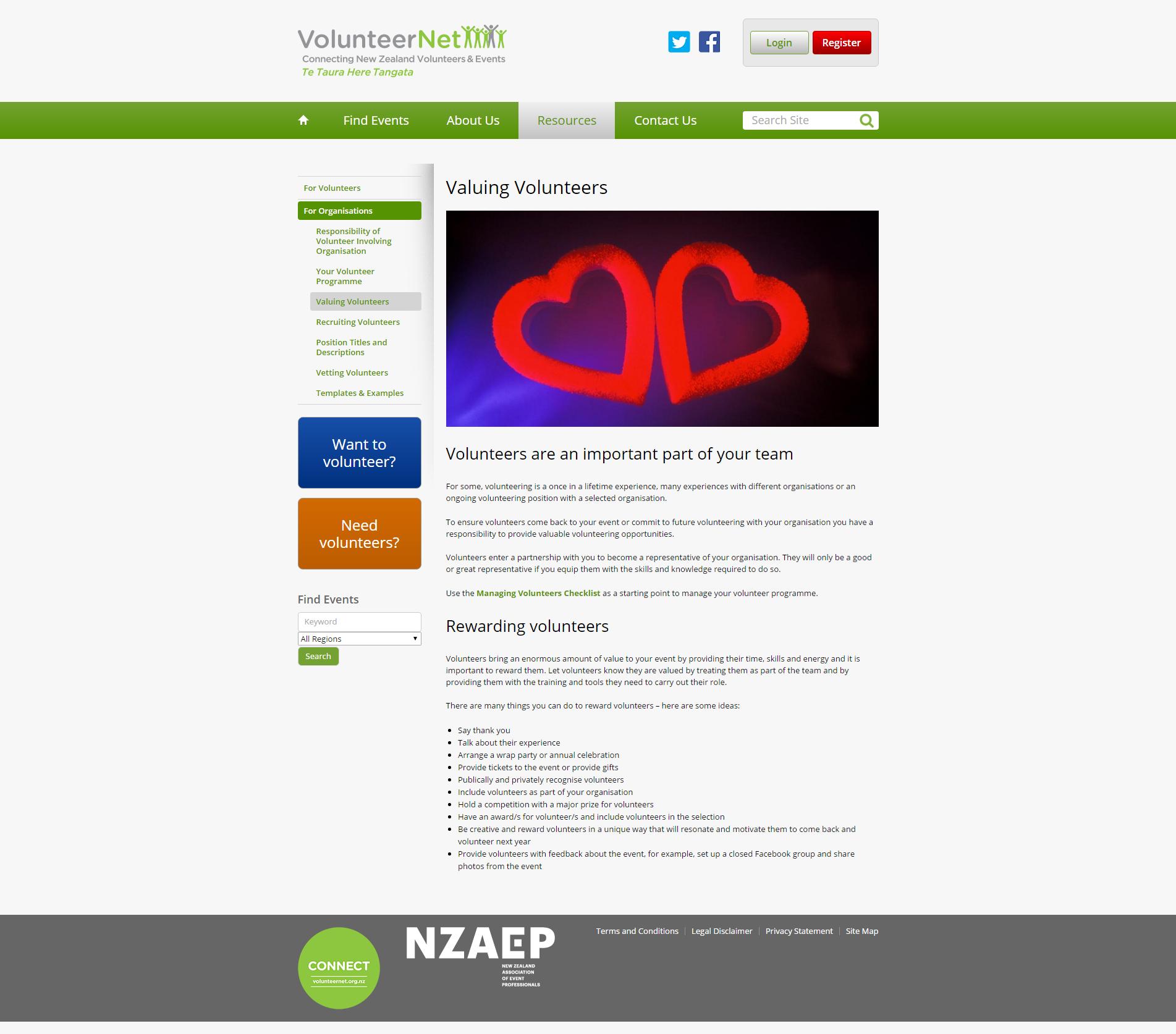 Valuing Volunteers _ VolunteerNet